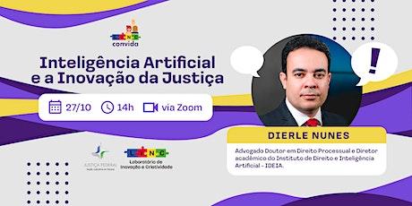 LINC Convida - Episódio 14: Inteligência Artificial e a Inovação da Justiça ingressos
