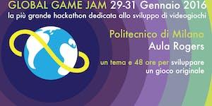Global Game Jam 29–31 January 2016