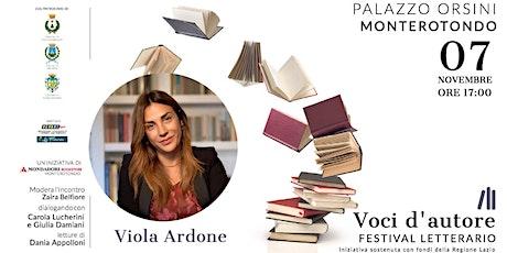 Viola Ardone   Oliva Denaro biglietti