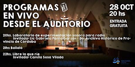 #64Años de Radio Nacional Córdoba - Programación En Vivo entradas