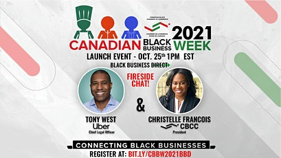 Canadian Black Business Week 2021  Launch Event - Black Business Direct tickets