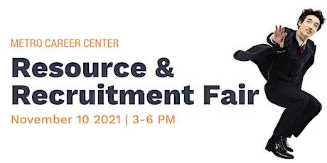 Metro Career Center Recruitment & Resource Fair tickets