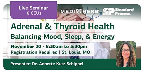 [In-Person] Adrenal & Thyroid Health: Balancing Mood, Sleep, & Energy tickets