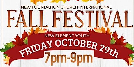 NFC International Fall Festival tickets