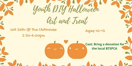 Youth Halloween DIY Event tickets