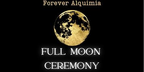 FOREVER ALQUIMIA Full Moon Ceremony, Astrology, Shamanic Journey bilhetes