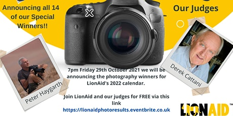 LionAid's Photography Competition Results Event tickets