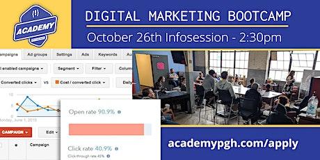 INFO SESSION: Digital Marketing Bootcamp tickets