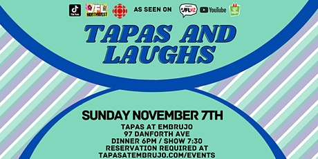 Comedy Night | Tapas & Laughs tickets