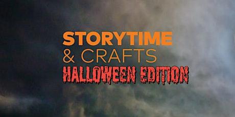Storytime & Crafts: Halloween Edition tickets