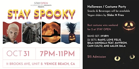 STAY Spooky with STAY OPEN and MGCKMNTN tickets