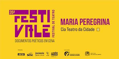 35º Festivale - Espetáculo Maria Peregrina - Cia Teatro da Cidade ingressos