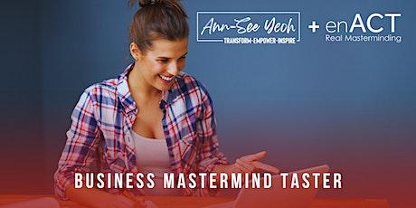 TASTER Business Mastermind for Yoga Teachers & Wellness Professionals tickets