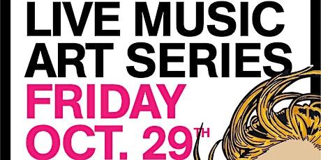 LIVE MUSIC ART SERIES  @ Blochaus Art Gallery x ENJOY YOUR LIFE BRAND tickets