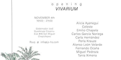 JO-HS: VIVARIUM EXHIBITION OPENING boletos