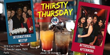 ★ Thirsty Thursday : International Apéro  X Bastille★ tickets