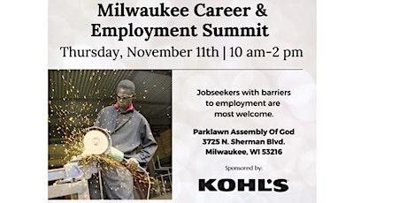 Milwaukee Career & Employment Summit - Resource Fair tickets