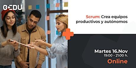 Scrum: Crea equipos productivos y autónomos/Sesiones en vivo. boletos