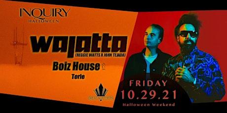 Wajatta (Reggie Watts + John Tejada), Boiz House, Torie & more tickets