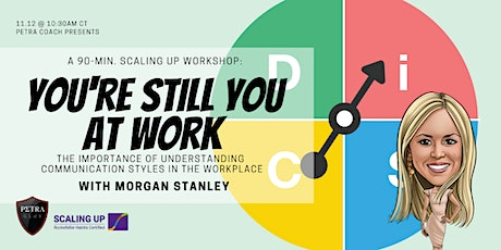 90-Minute Habits: You're Still You At Work with Morgan Stanley tickets