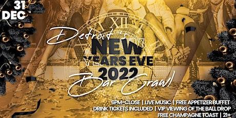 Detroit NYE Bar Crawl tickets