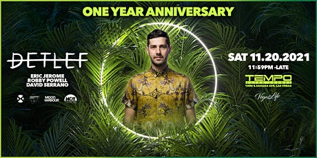 Tempo Ultra Lounge 1 Year Anniversary Party with Detlef and guests tickets