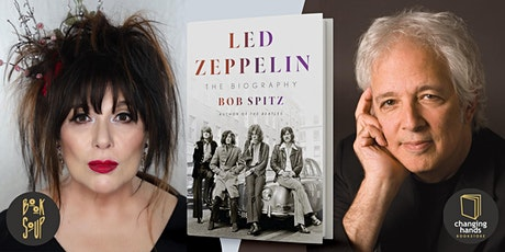 Bob Spitz, in conversation with Ann Wilson, discusses Led Zeppelin tickets