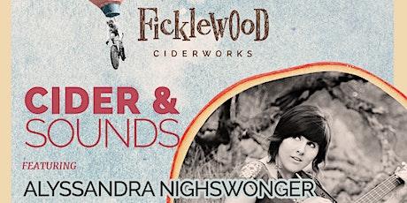 Cider & Sounds Featuring Alyssandra Nighswonger tickets