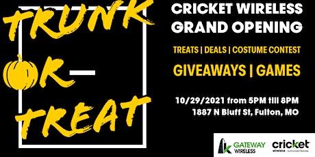 Cricket Wireless Grand Opening- Fulton, MO tickets