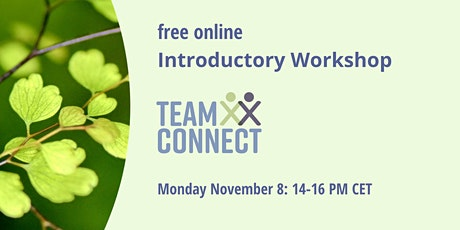 Online Introductory Workshop TeamConnect tickets