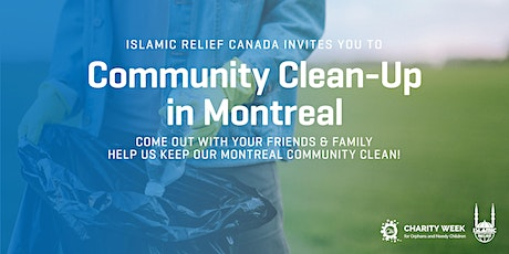 Community Clean-Up for Charity Week | Montreal tickets