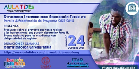EVENTO PRIVADO   PARTE II  ESTUDIANTES DEL DIPLOMADO  AULA TIDEs -UNESCO entradas