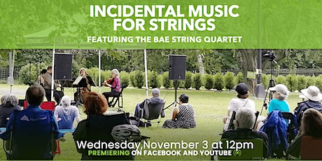 Virtual Concert Hall | Incidental Music for Strings tickets