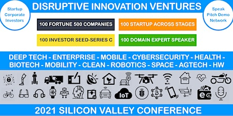 2021 Disruptive Innovation Ventures Conference tickets