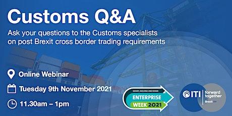 Post Brexit Cross-Border Trade Webinar tickets