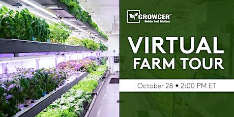 Virtual Container Farm Tour  (Growcer) tickets