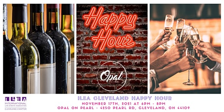 ILEA CLE Happy Hour Networking at Opal on Pearl tickets