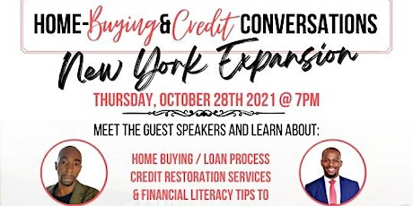 Home Buying  and Credit Conversations tickets