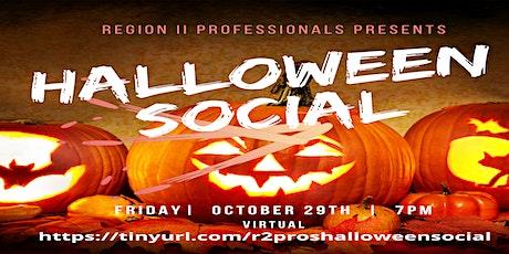 Region II Professionals Halloween Social and Pumpkin Carving Contest tickets