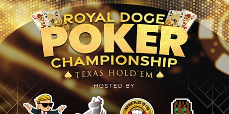 RoyalDoge Online Crypto Poker Tournament feat. CEO of WallStreetBets + More tickets