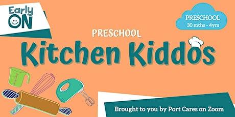 Preschool Kitchen Kiddos - Banana Ghosts and Apple Teeth tickets