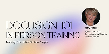 DocuSign 101 In-Person Training tickets