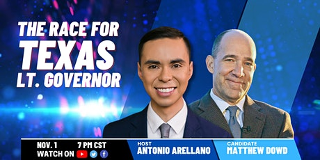 A Conversation with Matthew Dowd, Democratic Candidate for Lt. Gov of Texas tickets