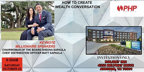 How to Create Wealth Conversation tickets