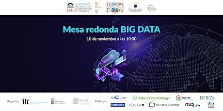 Mesa redonda Big Data entradas