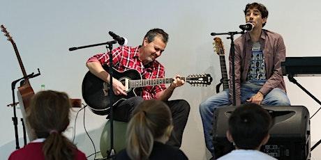 Musicalização para crianças, com Bob Bopsin e convidado Veco Marques ingressos