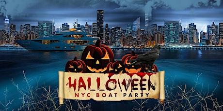 Halloween Party NYC: Saturday Night on Haunted Mega Yacht tickets