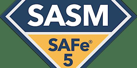 SAFe® Advanced Scrum Master Certification Virtual Training tickets