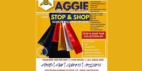#GHOE STOP & SHOP : ULTIMATE HOMECOMING POP UP SHOP tickets