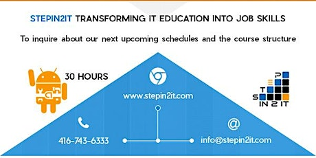 Learn Mobile Application Development with stepin2IT!! tickets
